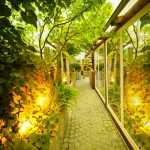 Landscape Lighting is a beneficial way to impress buyers with your home's exterior features.
